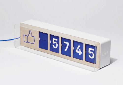 facebook likes meter