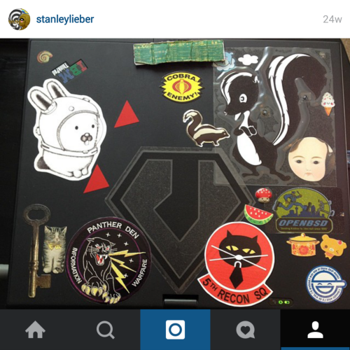 instgram thinkpad stickers