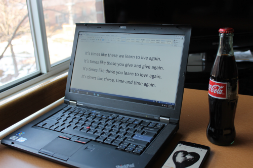 Lenovo ThinkPad T430 with T420 keyboard