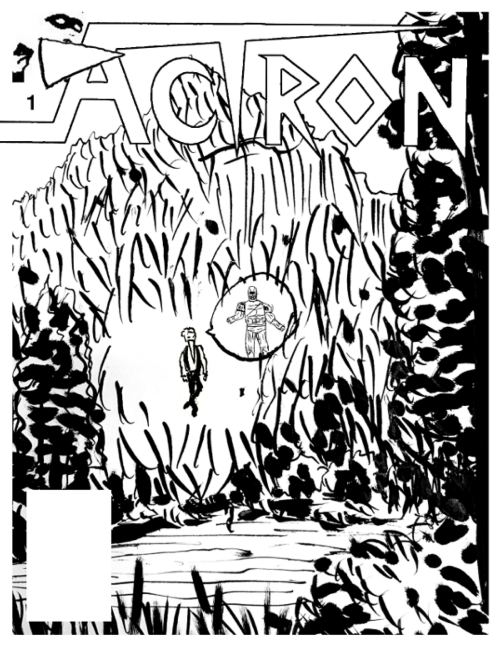 ACTRON v5, #1 - front cover
