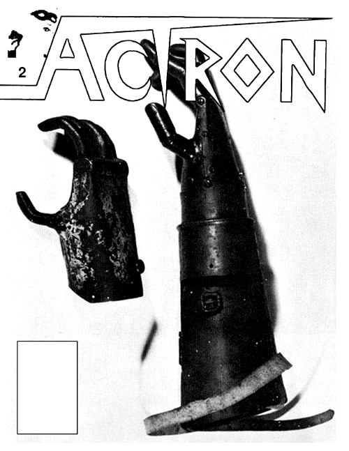 ACTRON v5, #2 - front cover